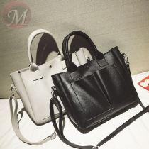 Women Bags Vintage Handbag Double Zipper Crossbody Bags Shoulder Bag Casual Shell Tote Lady