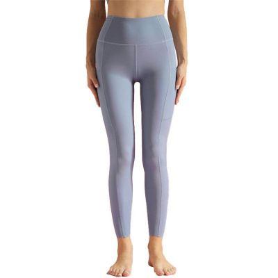 Wholesale Fitness Sport tights Yoga Pants Women Yoga Leggings High Waist Splicing Yoga Pants