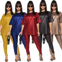 New arrival casual skinny Sexy 2 Pcs Track Suit Outfits oversize plus size Two Piece Set Women Clothing For fat Women