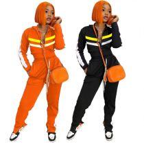 Hot Selling Splice Slit Sports Suit Jogging Suit Women 2 Piece Pants Set Track Suit Outfits Two Piece Set Women Clothing