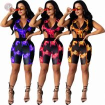 Casual Women Hollow Out Sleeveless V-neck Zip Bodysuits Ladies One Piece Short Jump Suit Bodycon
