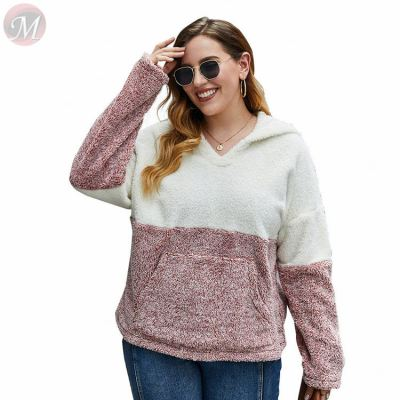 Latest design 2020 fashion Casual hoodies large size all match Wholesale Custom Women Tops For Woman