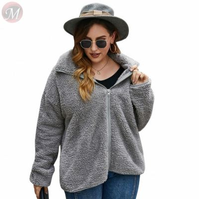 New arrival 2020 fall winter casual solid color large size fashion Wholesale Custom Women Tops For Woman