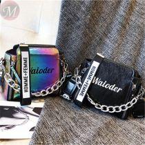 Hot sale 2020 casual all match Mini Bag New Shiny Girl Fashion Handbag Shoulder Messenger Bag