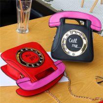 Wholesale New Arrivals Bag Funny Shoulder Women Handbags Telephone Chain Fashion Bag