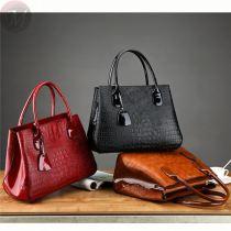 New Design 2020 casual European Fashion Luxury PU Leather Crocodile Pattern Handbag Clutch Bags