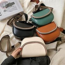2020 New design vintage bag simple style easy matching single shoulder Cross body woman handbag