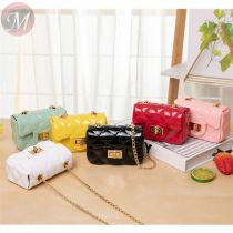 2020 New Arrivals Fashion Casual Mini Pvc Crossbody Purse Bag Women Cheap Jelly Bags