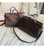Wholesale Fashionable Casual Leopard Tassel Pu Tote Bag Women'S Handbag Single Shoulder Messenger Bag