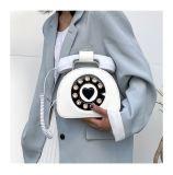 Wholesale Fashion All Match Cute Telephone Pu Leather Purses Crossbody Lady Shoulder Messenger Bag For Women