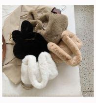 2020 All Match Fur Bags Fashion Handbag Winter Soft Plush Shoulder Bag Fashion Female Tote Bag