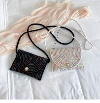 Hot Sale 2020 New Fashion Casual Small Weaving Handbag Pearl Women Crossbody Shoulder Bag