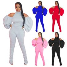New Style Casual Solid Color Backless Draped Hollow Out Jump Suit Basic Bodysuits Women One Piece Jumpsuits And Rompers