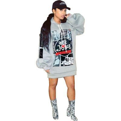 Wholesale Fashion Print 2020 Fall And Winter New Ladies Hoodie Women Hoodies Sweatshirts For Women