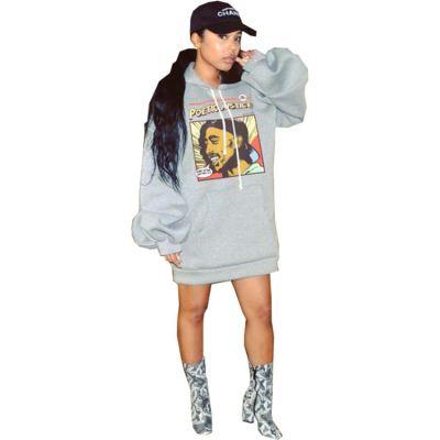 Best Seller 2020 Fall And Winter New Fashion Print Ladies Long Sleeve Hoodie Women Hoodies Sweatshirts For Women