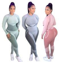 Good Quality Casual Skinny Sports Suit Jogging Suit Women Plus Size 2 Piece Set Outfits Two Piece Set Women Clothing
