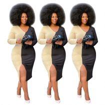 Fall 2020 Women Clothes Dresses New Arrivals 2020 Dresses Women Lady Elegant Wholesale Fashion Casual Dress