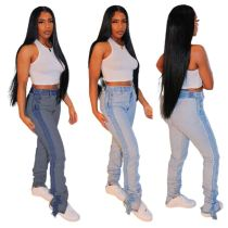 New Style Latest Design Fashion Trendy Womens Fall Fashion 2020 Women Pants Womens Trouser Pants Jeans Pants