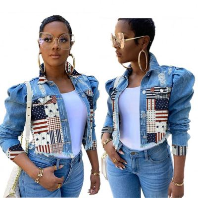 Plus Size High Quality Sexy Fall 2020 Women Clothes Womens Jacket And Coats Jean Jackets For Ladies Denim Jackets