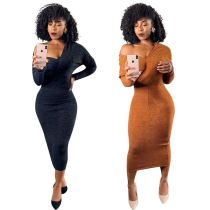 Newest Design Womens Fashion Trendy Dresses Women Casual Dresses Women Lady Elegant Fall Dresses For Women