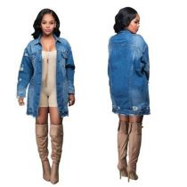 New Style Latest Design Clothes Women Sexy Hot Sller Denim Jacket Women Jean Jackets For Ladies Women Jean Jacket