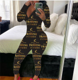 Best Seller Zipper V Neck Casual Pattern Long Pants One Piece Jumpsuits Rompers Womens Jumpsuit For Women
