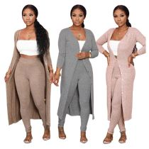 New Fashion Women Jacket And Pants Two Piece Set Women Clothing Womens Winter 2 Piece Set Womens 2 Piece Outfit