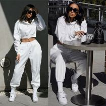 Lowest Price Casual Sweat Hot Sell 2 Piece Jogger Set Women Two Piece Women Pants Outfit Two Piece Jogger Set