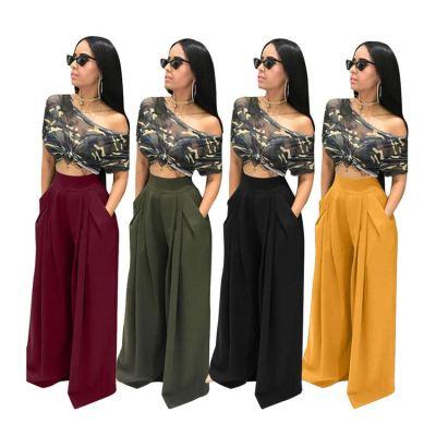 0102141 Hot Sale Ladies Pants Trousers Women