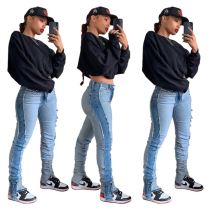 0110442 Hot Sale Jeans Pants Womens Women Jeans Pants
