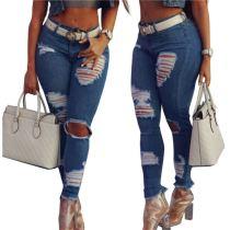 0110441 Fashion Sexy Jeans Pants Womens Women Jeans Pants
