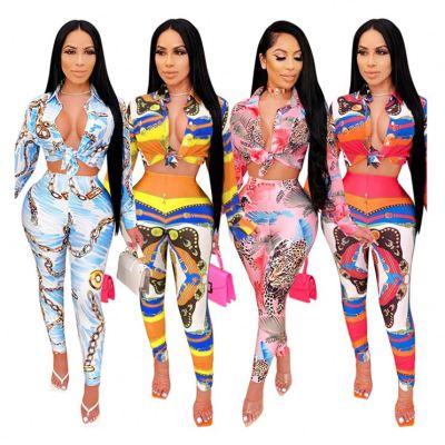 0102612 New Stylish Women Fashion Clothing Two Piece Set Women Clothing