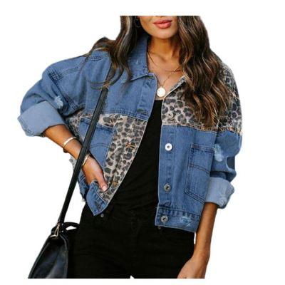 Hot Selling Women Fashion Clothing Women Tops 2020 Jean Denim Jacket And Coats Womens Jacket And Coats