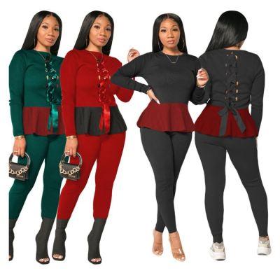0110544 New Design 2 Piece Set Women Two Piece Set Women Clothing