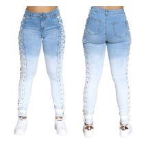 Hot Selling Apparel Fashion Clothing For Women 2020 Women Trousers Denim Jeans Trousers Lady Women Jeans