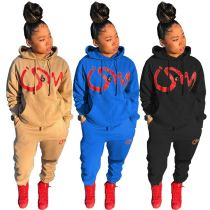 High Quality Sports Tracksuit Girls Winter Clothing 2020 Hoodie 2 Piece Womens Sets Women Two Piece Pants Set