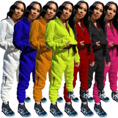 0102701 High Quality Womens Clothing Latest Design 2020 2 Piece Womens Jogging Sets