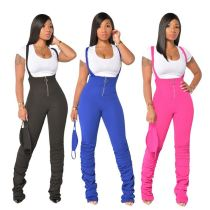 High Quality Womens Clothing Latest Design 2020 Women One Piece Jumpsuit Stacked Jumpsuits Women Rompers
