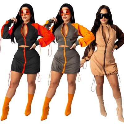 Good Quality Hot Sale 2020 Fashion Clothing Two Piece Set Women Clothing Bodycon Sets Two Piece Skirt Set