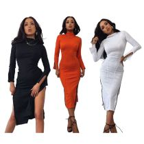 0110605 New Arrival Womens Clothing Latest Design 2020 Stylish Sexy Dress Women Elegant Casual Dres