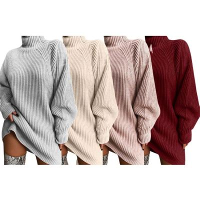 Hot onsale Sweater Knit Long Sleeves Fashion Autumn Clothing Womens Clothes Women Dress Casual Dresses