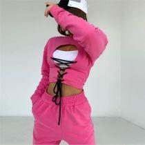 0110916 Wholesale Fashion Womens Winter Clothing 2020 Two Piece Set Women Clothing