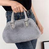 Newest Style Fashion Casual All Match Cute Plush Women Handbag Shoulder Bag