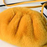 Newest Fashion Cute Faux Mink Fur Soft Plush Cloudy Shoulder Bags Womens Cross-Body Handbags