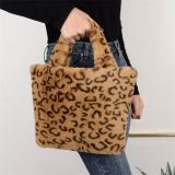 2020 Fashion Casual Autumn And Winter New Leopard Plush Bag Women Ladies Bags