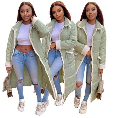 Good Quality New Trendy Winter Outfits Women 2020 Winter Long Jacket For Women Lady Coats Plus Size Jackets