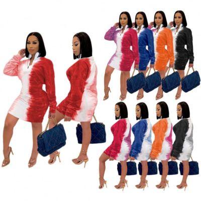 0111314 Best Seller Womens Winter Clothing 2020 Woman Casual Dress