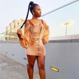 New Trendy Hot Seller Fashion Casual Autumn Women Clothing 2020 Woman Stylish Sexy Woman Casual Dress