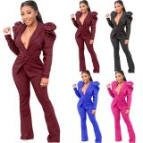0111702 Hot Selling 2020 Women Clothing Two Piece Set