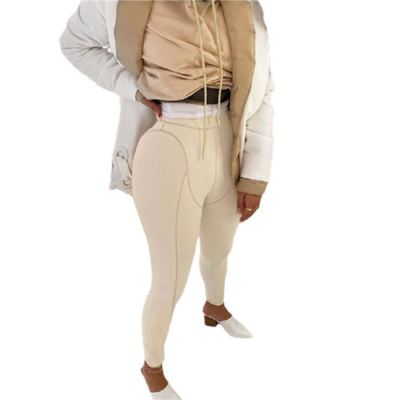 Newest Design Women Fall Fashion Clothing Casual Housewear Lady Bodycon Pants Women Trousers Lady Bottom Pants